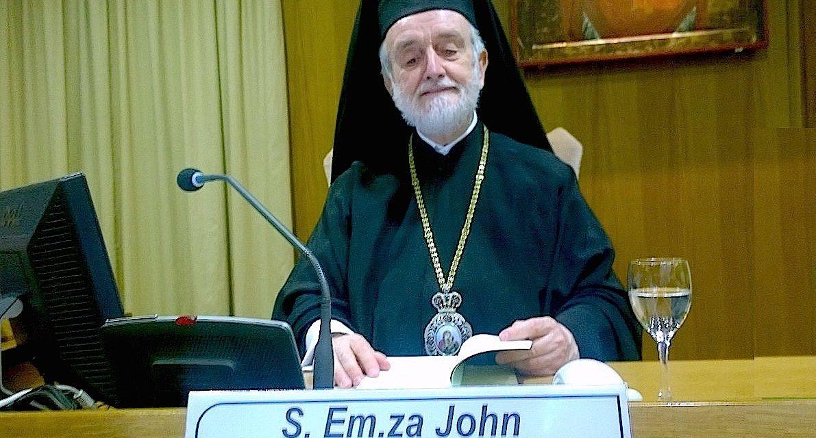 Авторитетот на Библијата и слободата – Митрополит Јован Зизиулас