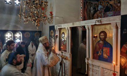 Божествена Литургија во Струмица