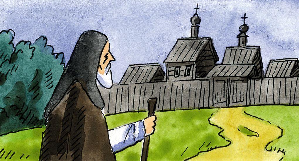 """""""Немиот"""" монах и неговото послушание"""