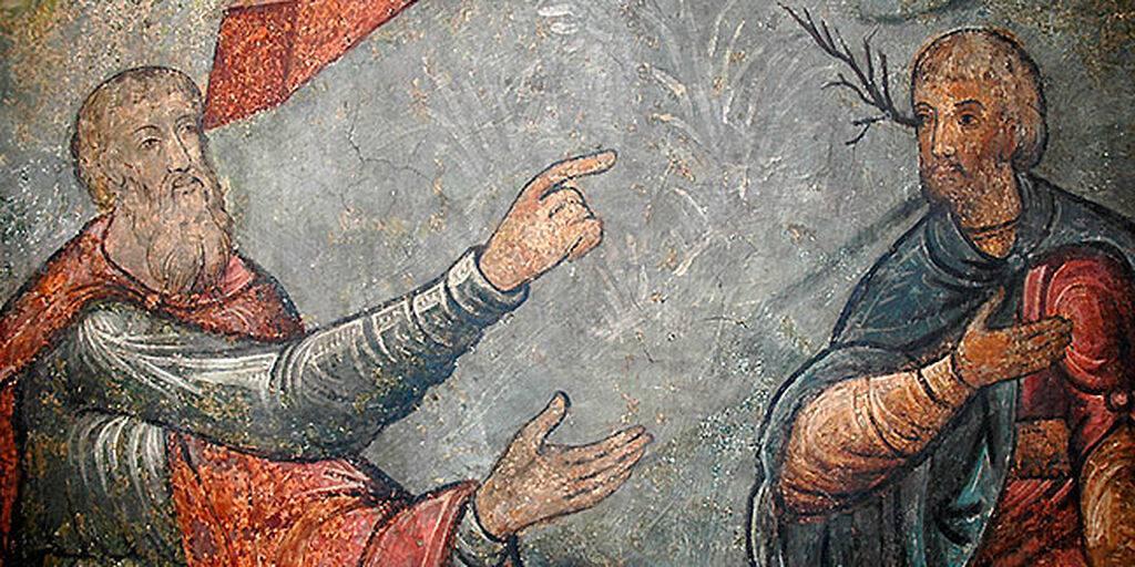Ава Пафнутиј и лажното обвинување