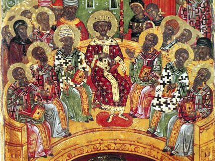 Недела на Светите отци на Првиот Вселенски собор