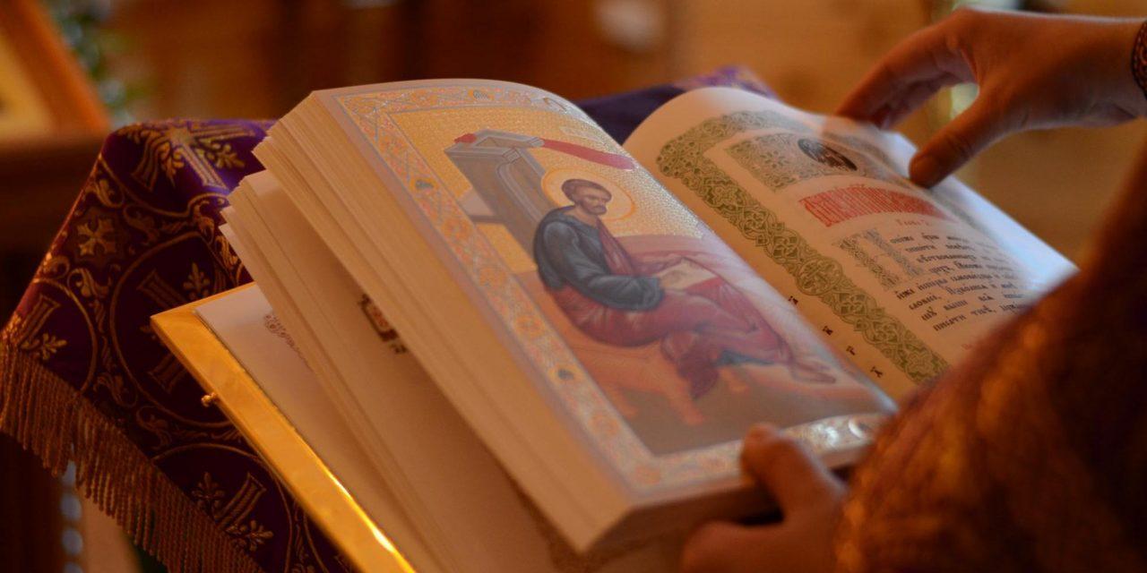 Светото Писмо е храна за нашата душа