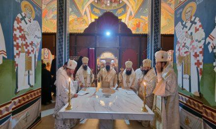 Осветување на новоизграден храм Св.Лидија Македонка